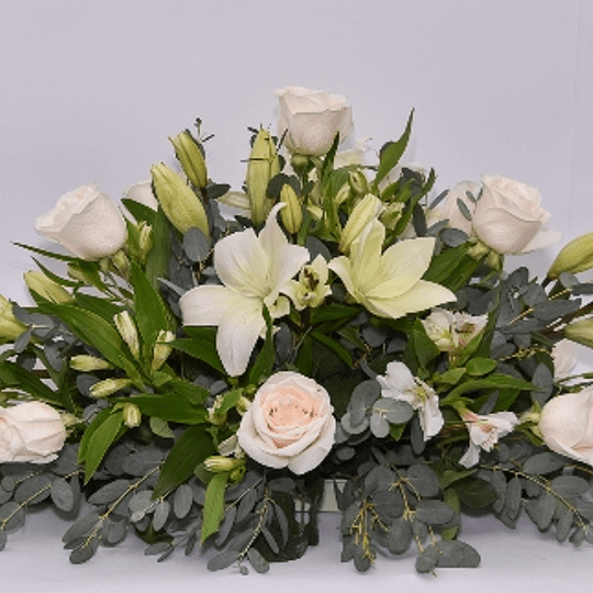Cojín de flores