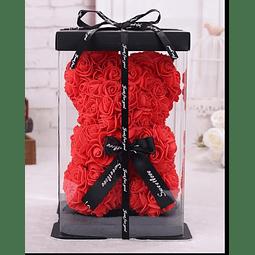 Osito de Rosas Artificiales (Teddy)
