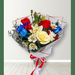 Ramo Mixto con Rosas y Liliums