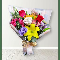 Ramo Mixto con flores de estación