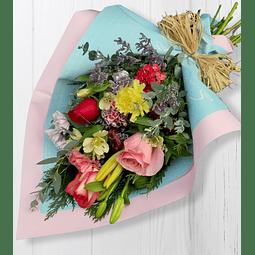 Ramo Mixto con flores de temporada
