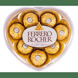 Ferrero Rocher 8 Unidades Forma de Corazón