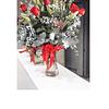 Florero con 12 Rosas y Liliums