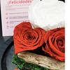 Cúpula con 3 Rosas eternas