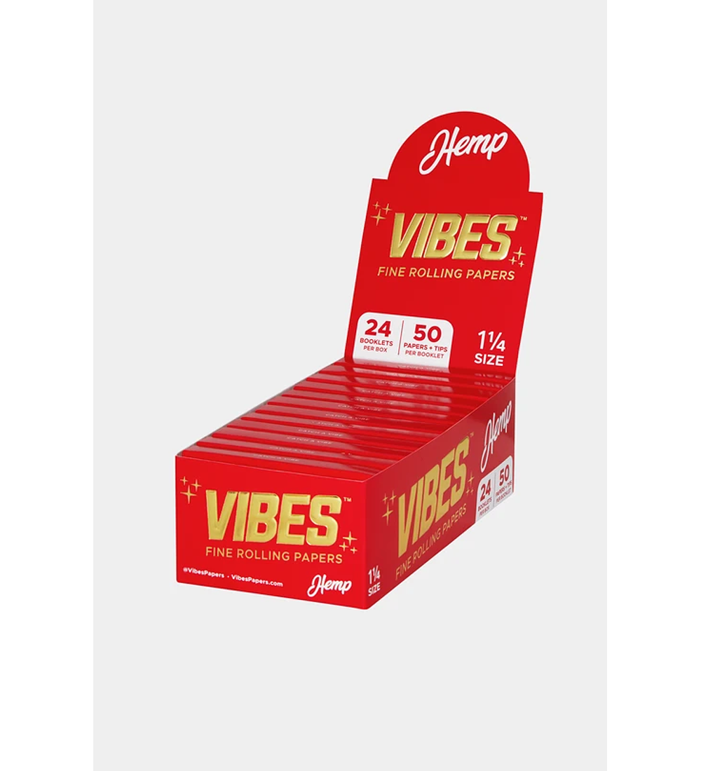 Vibes Rolling Papers 1 1/4 con Tips