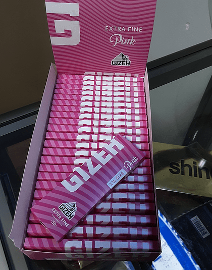 Papel Gizhe Pink 1 1/4