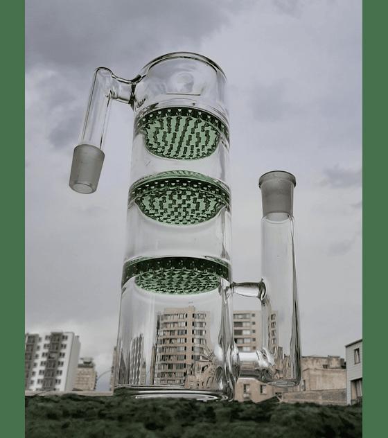 Atrapacenizas 14 mm triple honeycomb