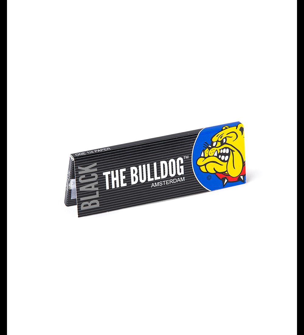 Papelillos The Bulldog Black 1 1/4