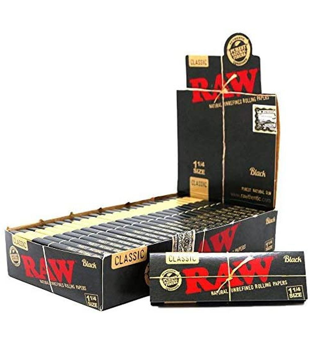Raw Black 1 1/4
