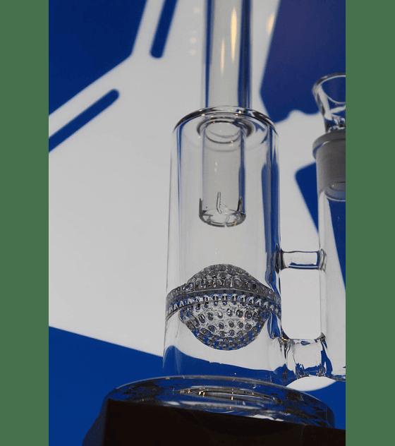 Bong de pyrex 30 cms, Percolador Honeycomb bola