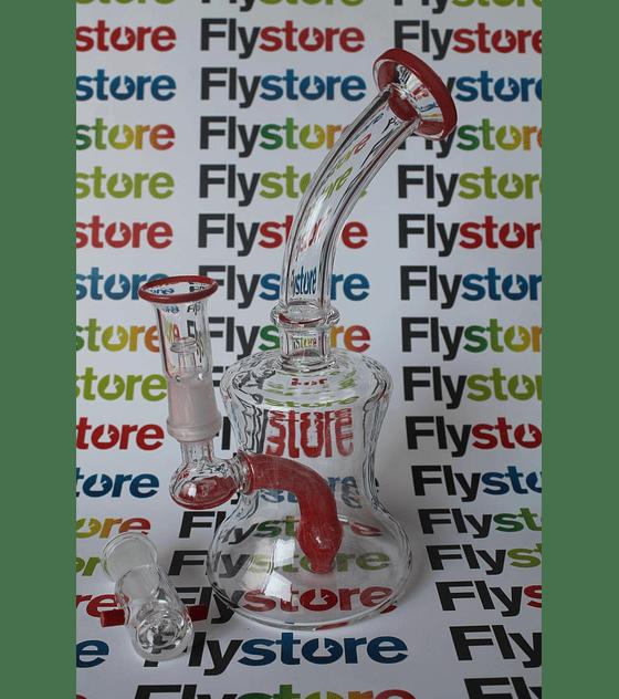 Bong de pyrex para flores y extracciones 21 cms