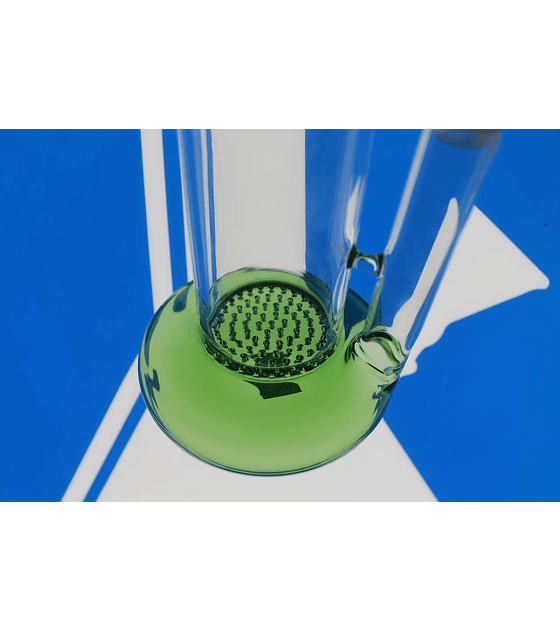 Bong de pyrex 25 cms honeycomb
