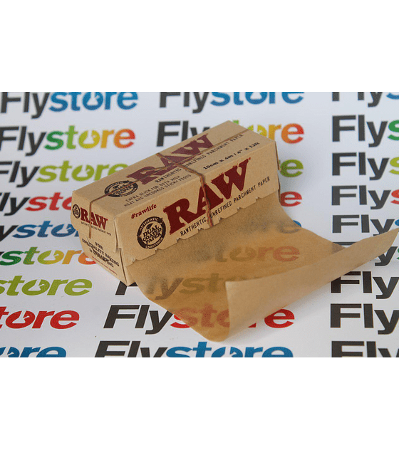 Papel Rosin Raw 10 metros
