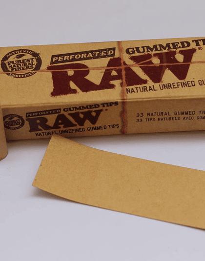 Boquillas Raw con pegamento