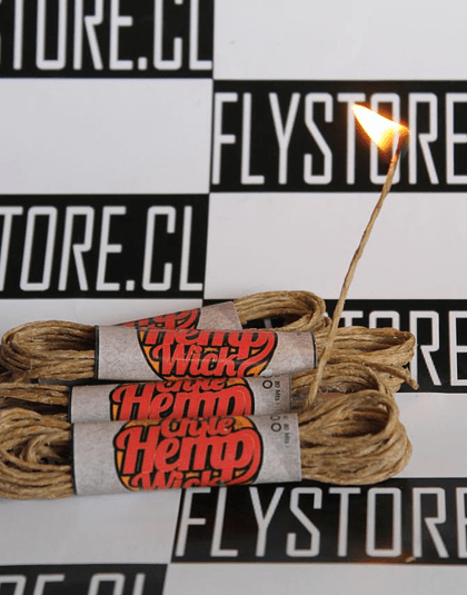 Chile Hemp Wick 2 mts