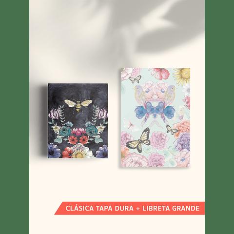 COMBO LIBRETA CLÁSICA + LIBRETA GRANDE