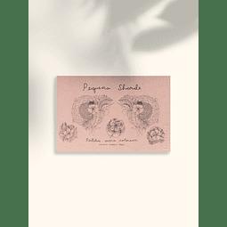 PEQUEÑA SHARDE postales para colorear