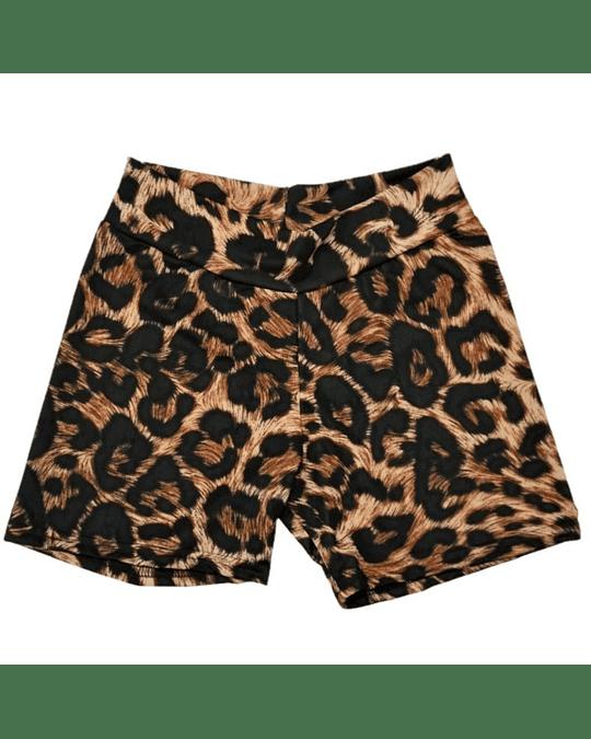 Calza Short Lycra Animal Print