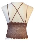 Bralette Camiseta Triángulo