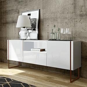 Buffet Vesta Blanco 1.8