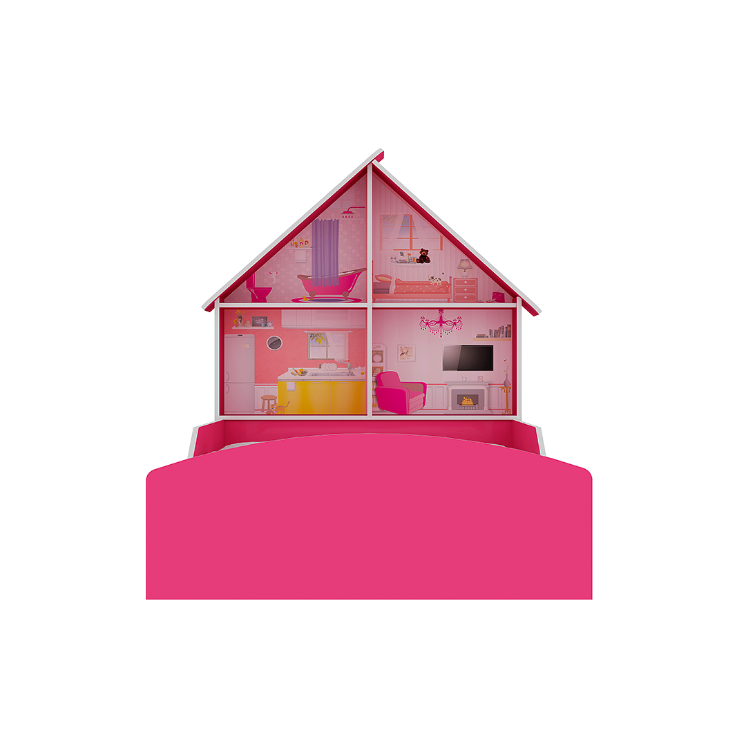 Cama + Closet + Escritorio Casinha - Image 5