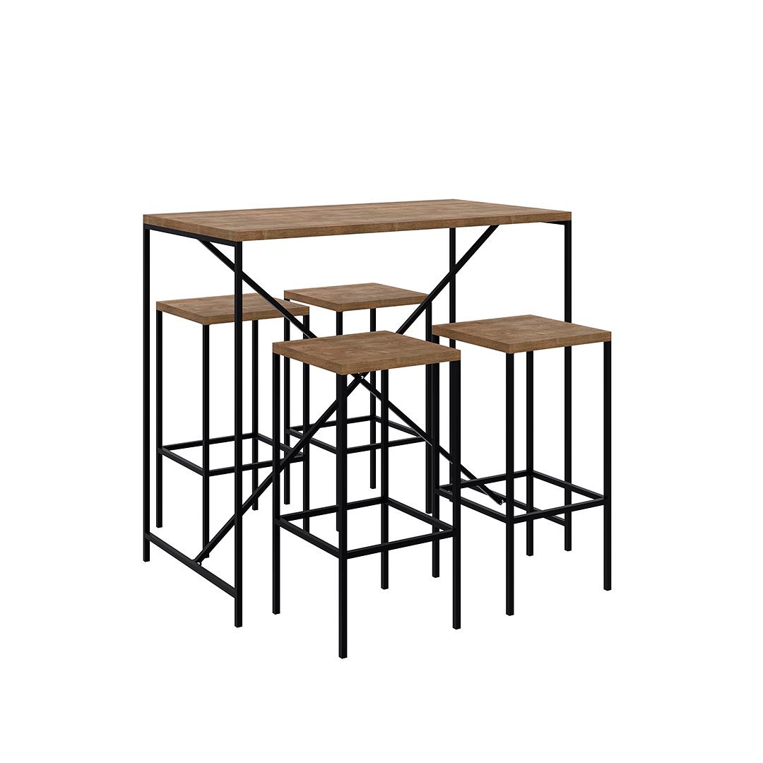 Comedor Alto Steel Quadra  - Image 2