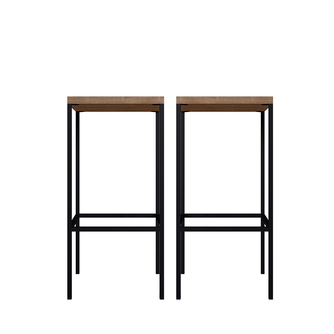 2 Pisos de Comedor Steel Quadra Alto  - Image 2