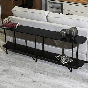 Sofá Table Iron Negro