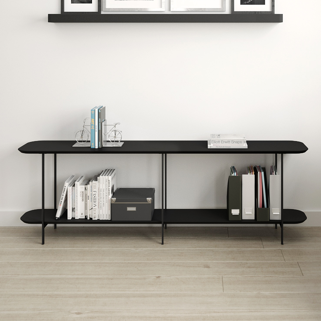 Sofá Table Iron Negro - Image 5