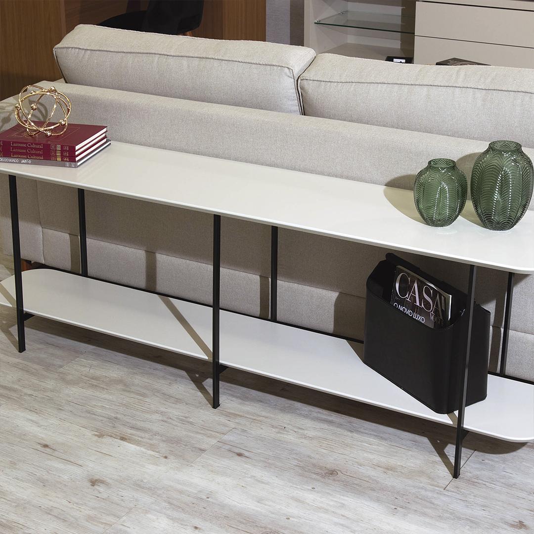 Sofá Table Iron Off White - Image 1