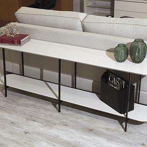 Sofá Table Iron Off White