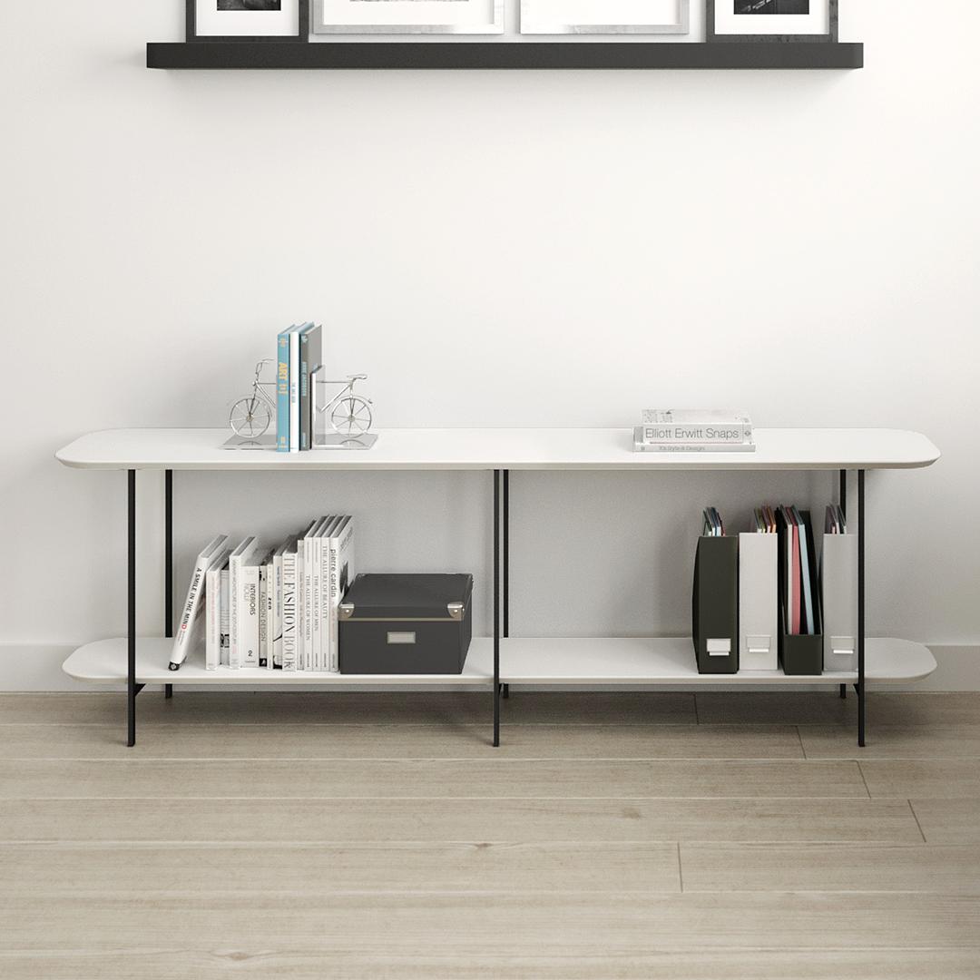 Sofá Table Iron Off White - Image 6