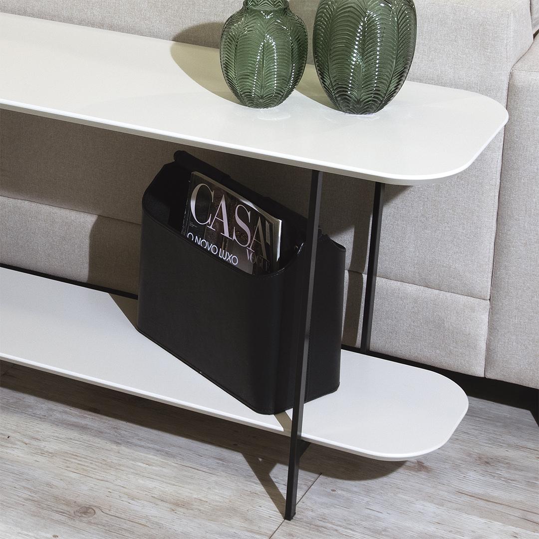 Sofá Table Iron Off White - Image 7
