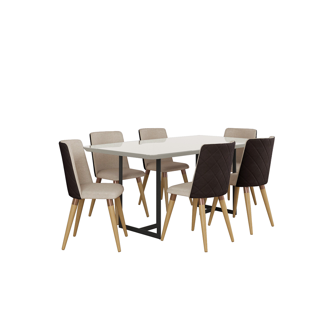 Comedor 1.8 Iron 6 sillas Dakota - Image 2