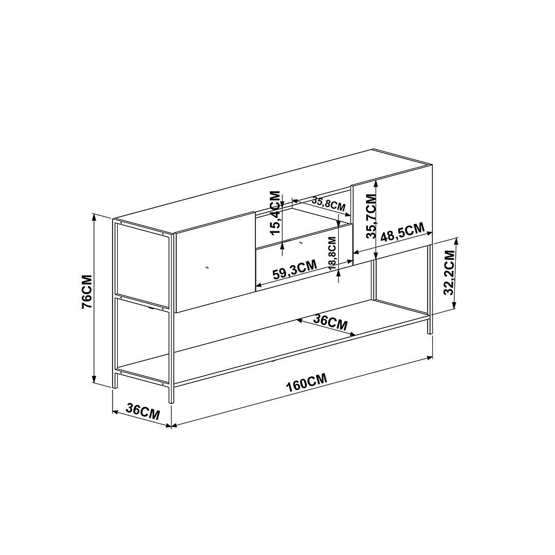 Rack Steel Quadra 27850 - Image 4