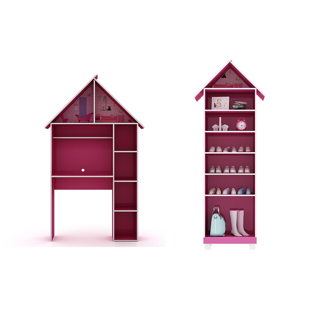 Cama + Escritorio + Closet + Zapatero Casinha - Image 3