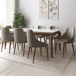 Comedor 1.8 Laurent 6 Sillas Evelyn