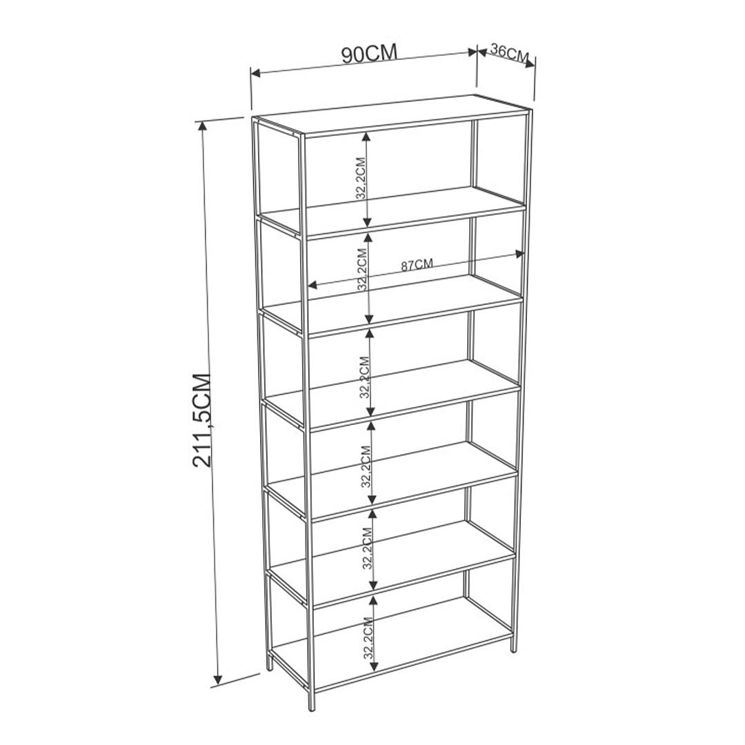 Estante Steel Quadra 27809 - Image 5