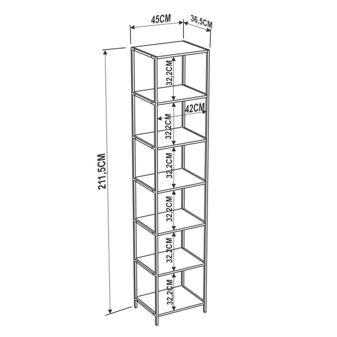 Estante Steel Quadra 27808 - Image 4