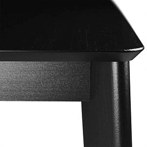 Comedor 1.8 Olive Negro 6 sillas Selina