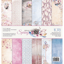 Pack papeles scrapbook - Hello Spring