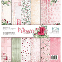 Pack de papeles scrapbook - Princess garden