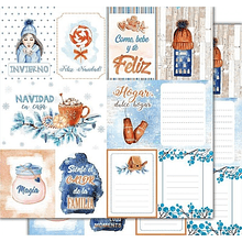 Papel scrapbook Cozy Winter - home sweet home