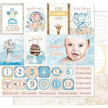 Papel scrapbook - Sweetie Baby - Baby's world