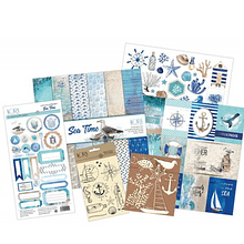 Kit scrapbook - Sea time (español)