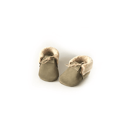 Chiporro Verde Musgo incluye plantilla de chiporro y cuero.