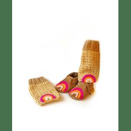 Moccs Arcoiris tonos rosa Diseño-Exclusivo