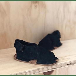 Sandalia Negras con planta antiderrapante A PEDIDO.