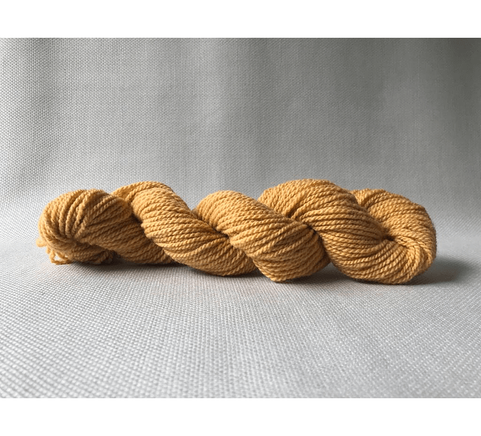 Sorrel N°6 - Corriedale hand-dyed wool with natural dyes - Wildlife Friendly