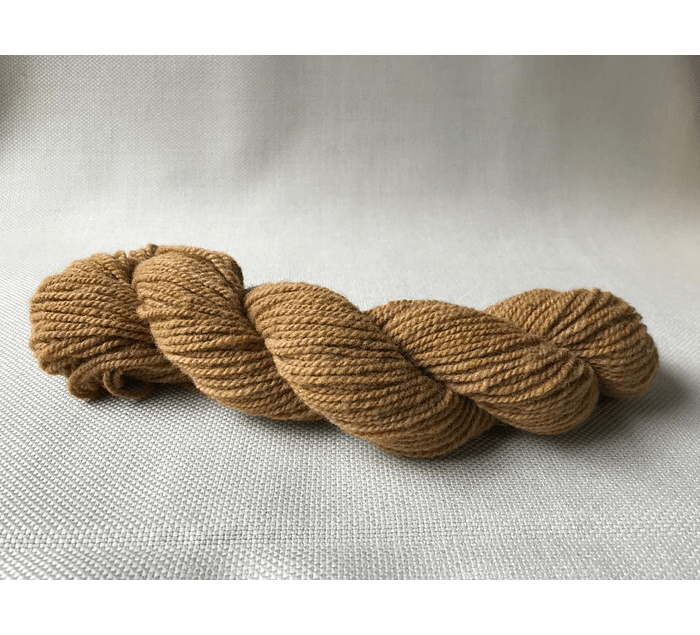 Sorrel N°1 - Corriedale hand-dyed wool with natural dyes - Wildlife Friendly